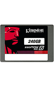 Kingston SSDNow V300 de 240 GB SATA 3 digitales 2,5 (7 mm de altura) unidad de estado sólido (sv300s37a / 240g)