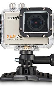 MEEE GOU MEE+5 Sportskamera/GoPro Style-kamera 2 16MP 4000 x 3000 / 3264 x 2448 / 2304 x 1728 60fps Nej ± 2 EV CMOS 32 GB MPEG-4 / H.264