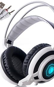 sades arcmage 3.5mm pc gaming over het oor headset stereo gaming koptelefoon met microfoon& volumeregeling