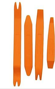iztoss 4 stuks auto deur clip paneel stuwing removal tool kits voor auto dash radio audio installer peutergereedschap