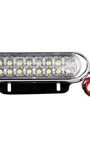 2 bil lastbil dag kører tåge kørsel DRL hvid 16 LED lys dagslys