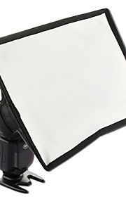 sidande 20x30cm / 7.9 * 11.8in draagbare fotografie mini flash diffuser softbox kit canon nikon samsung dslr Speedlite flitsers