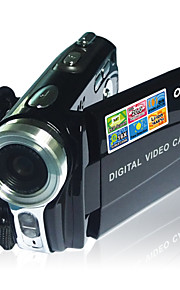 "ordro® v6 digitalt videokamera 3,0 ""TFT-LCD 270 graders visning rotation CMOS sensor max.20mp 16x digital zoom"