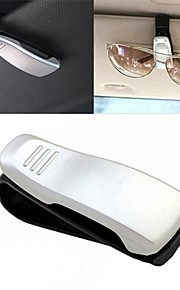 ZIQIAO Car Visor Glasses Sunglasses Ticket Clip Holder