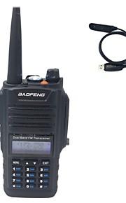 BaoFeng BF-A58+Programming cable Walkie-talkie 5W(H)/4W(M)/1W(L) 128 400-470MHz / 136-174MHz Li-ion battery 1800mAh 3km-5kmNoodgevallen