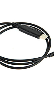 usb-kabel programmering 2-pins + cd radio-zendontvanger Kenwood tk KPG th