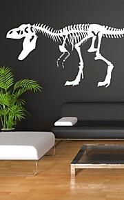 חיות / רומנטיקה / אופנה / אבסטרקט / פנטזיה מדבקות קיר מדבקות קיר מטוס,PVC M:42*98cm / L:55*126cm