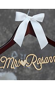 Rustic Wedding Hanger, Personalized Wedding Dress Hanger, Custom Bridal Bridesmaid Hanger