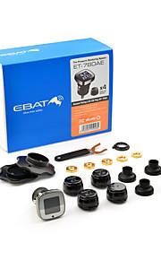 steelmate Ebat diy TPMS-et-780ae bandenspanningscontrolesysteem LCD-display met externe sensor psi / bar unit