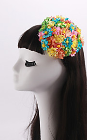 Women's / Flower Girl's Fabric Headpiece-Wedding / Special Occasion / Casual Flowers 1 Piece