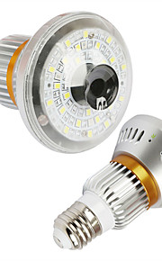 eazzydv hd960p trådløs pære ip kamera med motion dection nattesyn cirkulære opbevaring og 5Watt hvidt lys