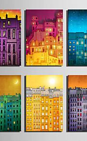 Landschaft Leinwand drucken Ein Panel Fertig zum Aufhängen,Vertikal