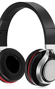 on-the-ear stereo blueooth draadloze hoofdtelefoons computer headsets met aux audiokabel fm radio hifi ruisonderdrukkende