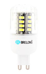 Ampoules Maïs LED Blanc Chaud / Blanc Froid 1 pièce T G9 6W 30 SMD 600 lm AC 100-240 V