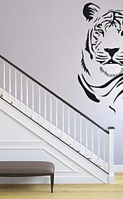 חיות / רומנטיקה / אופנה / אבסטרקט / פנטזיה מדבקות קיר מדבקות קיר מטוס,PVC M:42*61cm / L:55*80cm
