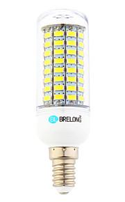 Ampoules Maïs LED Blanc Chaud / Blanc Froid 1 pièce T E14 18W 89 SMD 5730 1800 lm AC 100-240 V
