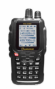 WOUXUN kg-uv8d 1700mAh dual-band 134-174 / 400-480 MHz 999ch herhalen two-way radio
