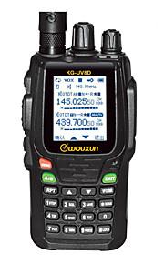 WOUXUN KG-UV8D PLUS Walkie-talkie VHF:5W/UHF:4W 999 400 - 470 MHz / 136 - 174 MHz 1700mAh 3 Km - 5 KmFM Radio / Allarme di emergenza /