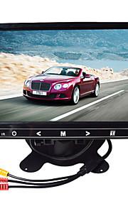 9 inch hd ultradunne TFT-LCD auto achteruitkijkspiegel-monitor met stand achteruit back-up camera van hoge kwaliteit
