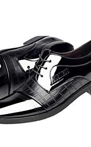 Chaussures Hommes Mariage / Bureau & Travail / Soirée & Evénement Noir Cuir Richelieu