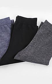 2016 Huff Socks Men Brand BONAS Fashion Leisure Cotton Solid Color Socks High Quality Male Spring Socks 3pairs/bag.