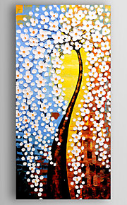 Oil Painting Money Tree Hand Painted Canvas with Stretched Framed Ready to Hang