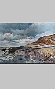 Lager Handmade Seascape Oil Painting On Canvas Wall Paintings For Living Room Home Decor Whit Frame
