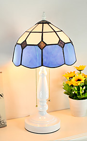 BOXIMIYA The Mediterranean Tiffany Creative Study Warm Bar Decoration Lamp Chimney 30 Cm