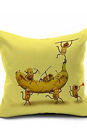 2016 New Arrival  Cotton/Linen Pillow Cover , Nature Modern/Contemporary  Pillow Linen Cushion990