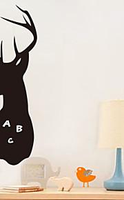 Tiere / Cartoon Design / Romantik / Tafel / Mode / Feiertage / Landschaft / Formen / Fantasie Wand-Sticker Tafel Wandsticker,PVC60cm x