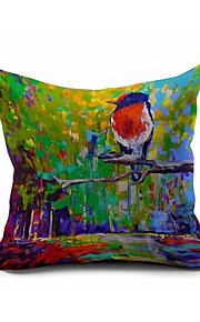 2016 New Arrival  Cotton/Linen Pillow Cover , Nature Modern/Contemporary  Pillow Linen Cushion973