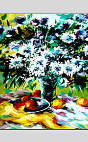 Sun Flower Style Canvas Material Oil Paintings with Stretched Frame Ready To Hang Size 70*70CM