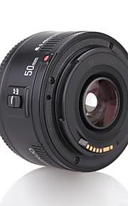 yongnuo yn50mm f1.8 standard prime objektiv stor blænde autofokus linse til Canon EF mount rebel dslr kamera