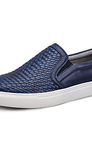 Men's Shoes Outdoor / Office & Career / Casual Loafers / Slip-on Black / Navy
