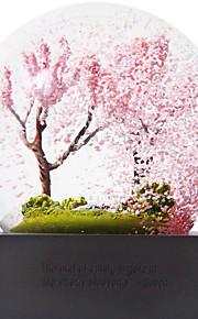 beautful 4 vuodenaikaa lumihiutale maailmaa koriste lumi pallo
