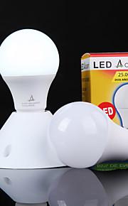 Ampoules Globe LED Décorative Blanc Froid ACEM 1 pièce A60(A19) E26/E27 5W 12 SMD 2835 500 lm AC 100-240 V