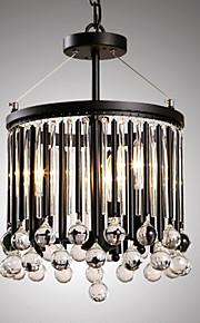 MAX 40W Moderno / Contemporáneo Cristal / Mini Estilo Otros Metal Lámparas ColgantesSala de estar / Dormitorio / Comedor / Habitación de