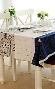 Cartoon Pattern Table Cloth Fashion Hotsale High-grade Cotton Linen Square Coffee Table Cloth Cover Towel