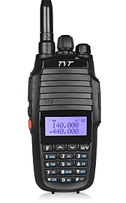 TYT TH-UV8000D Walkie-talkie ≤10w ≥5w 128 136-174 mHz / 400-520MHz 3600mAh 5-10 kmFM-radio / Nødalarm / Programmerbar med PC software /