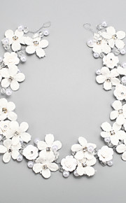 Dame / Blomsterpige Rhinestone / Legering / Imitert Perle Headpiece Bryllup / Spesiell Leilighet Pannebånd Bryllup / Spesiell Leilighet1