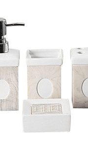 tetragonum керамика ванной четыре куска костюм (случайный рисунок)