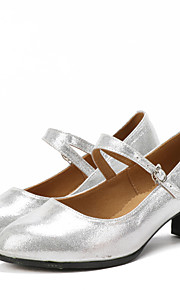Sapatos de Dança(Preto / Vermelho / Prateado / Dourado) -Feminino-Não Personalizável-Latina