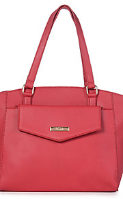 K'rlot/Women-Formal / Casual / Event/Party / Outdoor / Office & Career-leatherette-Tote-Brown / Red / Gray / Black