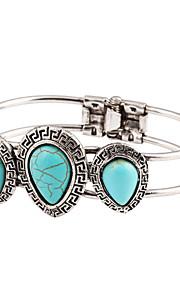Bohemian Fashion Love Turquoise Multilayer Woven Bracelet