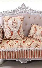 européen sofa matelassé couverture classique de haute qualité canapé en tissu chenille accoudoir serviette