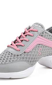 Sapatos de Dança(Preto / Branco / Cinza) -Feminino-Não Personalizável-Moderna