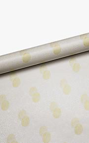 Мода / Геометрия Наклейки Простые наклейки,PVC 45*100CM