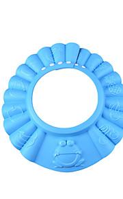 grossa banho de shampoo touca de banho seguro e pára-sol proteger chapéu cap macia para bebê crianças crianças