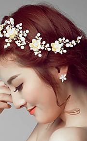 Women's Alloy / Rhinestone Headpiece-Wedding / Special Occasion Birdal Flowers Headbands 1 Piece