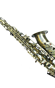 Green Bronze Double Reinforcement E Alto Saxophone Configuration